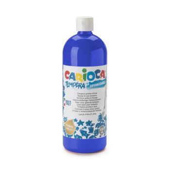 Τέμπερα CARIOCA Superwashable μπουκάλι 1000ml ΜΠΛΕ