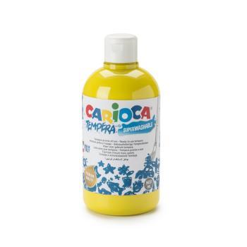 Τέμπερα CARIOCA Superwashable μπουκάλι 500ml ΚΙΤΡΙΝΟ ΑΝΟΙΧΤΟ