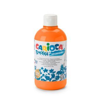 Τέμπερα CARIOCA Superwashable μπουκάλι 500ml ΠΟΡΤΟΚΑΛΙ