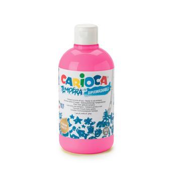 Τέμπερα CARIOCA Superwashable μπουκάλι 500ml ΡΟΖ