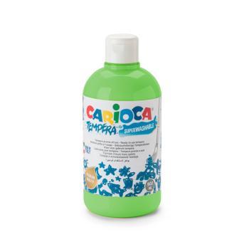 Τέμπερα CARIOCA Superwashable μπουκάλι 500ml ΠΡΑΣΙΝΟ ΑΝΟΙΧΤΟ