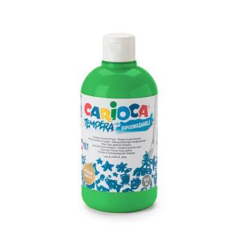 Τέμπερα CARIOCA Superwashable μπουκάλι 500ml ΠΡΑΣΙΝΟ ΛΑΧΑΝΙ