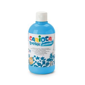 Τέμπερα CARIOCA Superwashable μπουκάλι 500ml ΜΠΛΕ