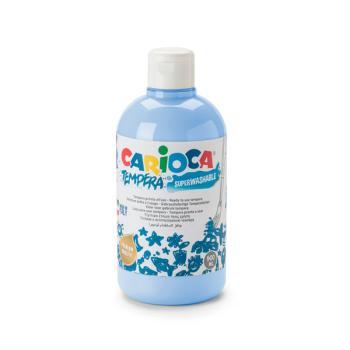 Τέμπερα CARIOCA Superwashable μπουκάλι 500ml ΜΠΛΕ ΑΝΟΙΧΤΟ