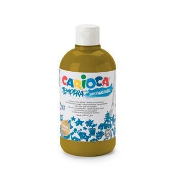 Τέμπερα CARIOCA Superwashable μπουκάλι 500ml ΚΑΦΕ ΑΝΟΙΧΤΟ