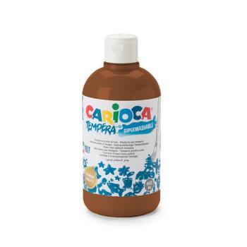 Τέμπερα CARIOCA Superwashable μπουκάλι 500ml ΚΑΦΕ