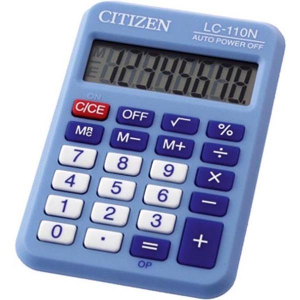 Αριθμομηχανή ψηφιακή CITIZEN LC-110NBL (8 ΨΗΦΙΩΝ)