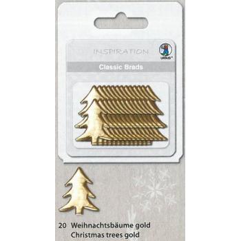 Είδη χειροτεχνίας ΠΟΥΛΙΕΣ URSUS 74040020 X-MAS TREE GOLD 2-4mm 26τεμ
