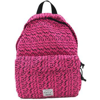 Σχολική τσάντα πλάτης CITY 41x30x15 THE DROP SPECIAL 20117 PINK JERSEY