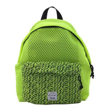 Σχολική τσάντα πλάτης CITY 41x30x15 THE DROP SPECIAL 20617 FLUO GREEN