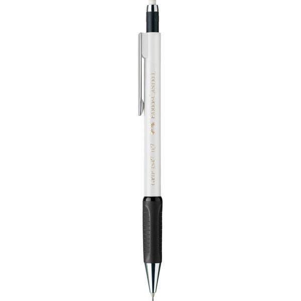 Μηχανικό Μολύβι Faber Castell AWF 134501 GRIP λευκό 0,5mm