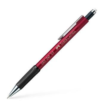 Μηχανικό Μολύβι Faber Castell AWF 134721 GRIP κόκκινο 0,7mm