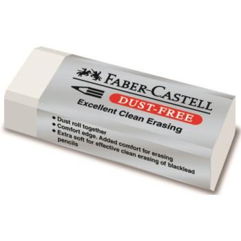 Γόμα Faber Castell AWF 187130 DUST FREE WHITE MINI