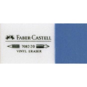 Γόμα Faber Castell AWF 188230 7082-30 VINYL WHITE/BLUE MINI