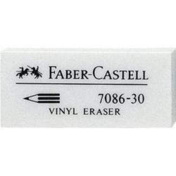 Γόμα Faber Castell AWF 188730 7086-30 VINYL WHITE