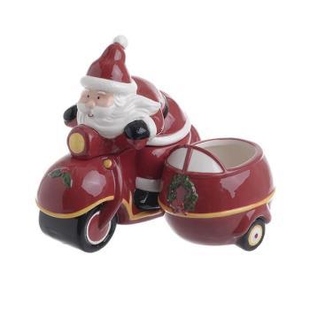INART Δοχείο Άγιος Βασίλης με καπάκι 2-60-920-0005