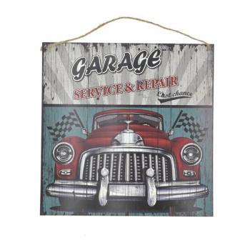 Μεταλλικός πίνακας INART GARAGE 30x30
