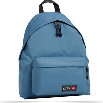 Σχολική τσάντα CITY μπλε ραφ 41x30.5x15.5cm 92417
