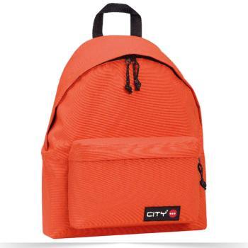 Σχολική τσάντα CITY πορτοκαλί 41x30.5x15.5cm 95417