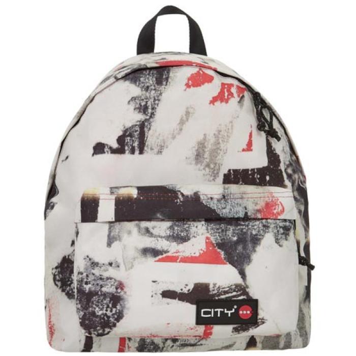 441f29b89d Σχολική τσάντα πλάτης CITY 41x30x15 THE PRINTS 11917