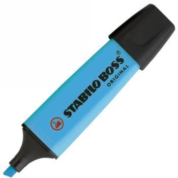 Μαρκαδόρος Υπογράμμισης STABILO BOSS φωσφοριζέ μπλε
