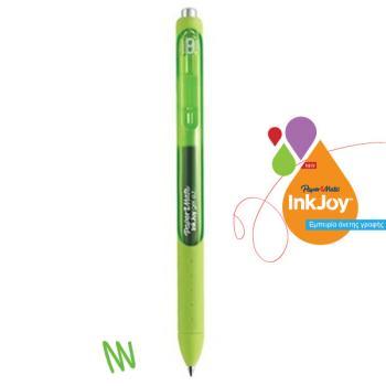 Στυλό GEL Papermate INK JOY GEL RT [M] 0,7 mm Πράσινο Ανοικτό