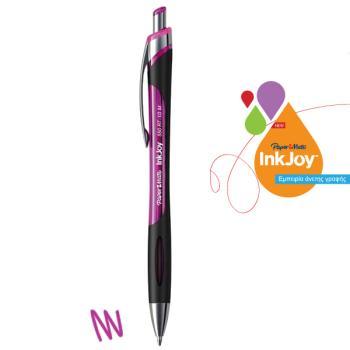 Στυλό διαρκείας Papermate INKJOY 550 RT 1,00 mm Φούξια