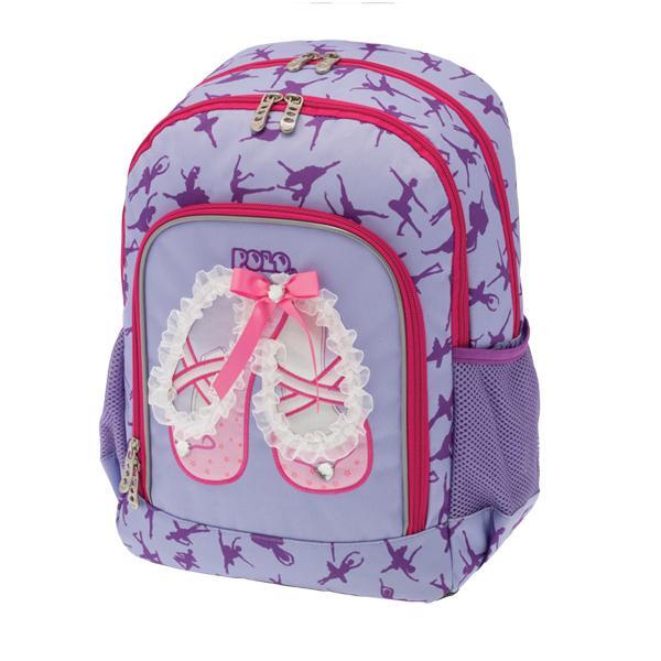 Σχολική τσάντα POLO νηπίου πλάτης PRIMARY GIRLY SHOES 9-01-247-11 (2018)