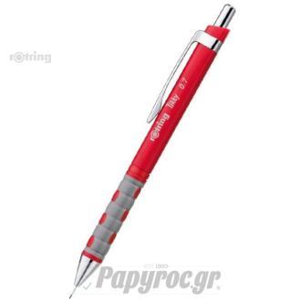 Μηχανικό μολύβι ROTRING ΤΙΚΚΥ STD RED 0.7 1904507