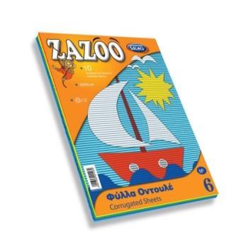 Φύλλα Οντουλέ Zazoo SKAG 25X35 Νο6 221269