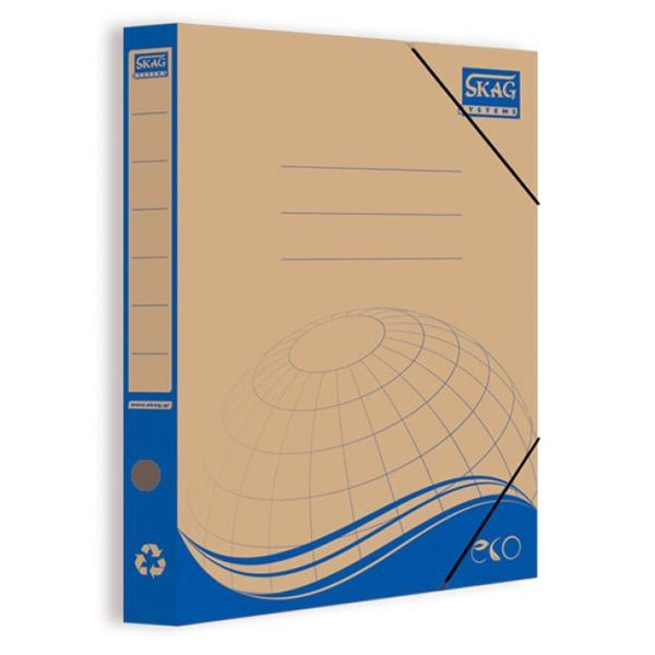 Κουτί Λάστιχο Κραφτ SKAG 26,5X35 Ράχη 5,5cm (4 χρώματα) 233118