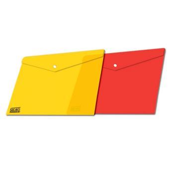 Φάκελος P.P. SKAG Με Κουμπί 23Χ33cm Fancy 233163 (6 χρώματα)