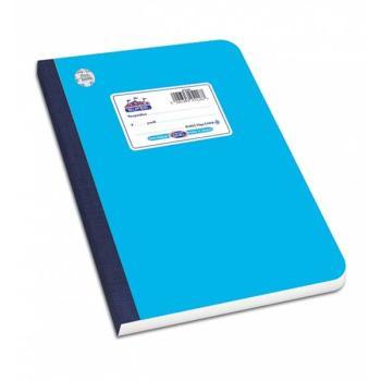Λινόδετο τετράδιο SKAG SUPER ΔΙΕΘΝΕΣ γαλάζιο Α4 60φ 252409