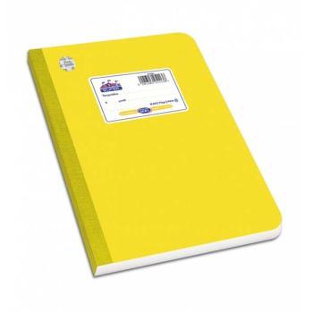 Λινόδετο τετράδιο SKAG SUPER ΔΙΕΘΝΕΣ κίτρινο Α4 60φ 252379