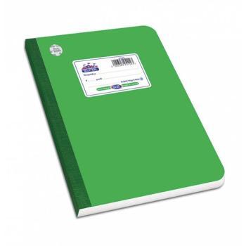 Λινόδετο τετράδιο SKAG SUPER ΔΙΕΘΝΕΣ πράσινο Α4 60φ 252386