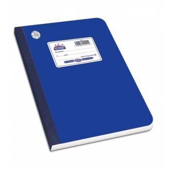 Λινόδετο τετράδιο SKAG SUPER ΔΙΕΘΝΕΣ μπλε Α4 60φ 252355