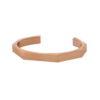 Βραχιόλι χειροπέδα SLEVORI stainless steel με επιλογή χάραξης WBSS-0053.R