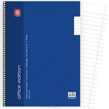 Σχολικά τετράδια σπιράλ TYPOTRUST Office Edition 1 Θέμα Α4 100 σελίδες