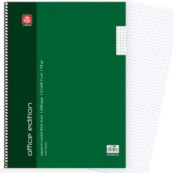 Σχολικά τετράδια σπιράλ ΚΑΡΡΕ TYPOTRUST Office Edition 1 Θέμα Α4 100 σελίδες