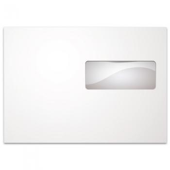 Φάκελλα Λευκά Καρρέ Αυτοκόλλητα TYPOTRUST Παράθυρο Δεξί 90gr 162 x 229 (500 ΤΕΜ)