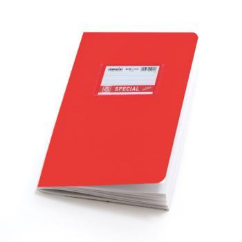 Σχολικά τετράδια απλά SPECIAL 17 x 25 κόκκινα 50 φύλλα