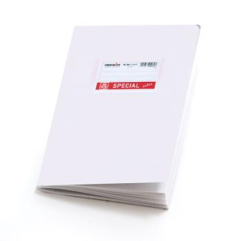 Σχολικά τετράδια απλά SPECIAL 17 x 25 λευκό 50 φύλλα