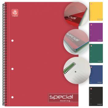 Σχολικά τετράδια σπιράλ TYPOTRUST Meeting 2 Θέματα A4 (6 χρώματα)