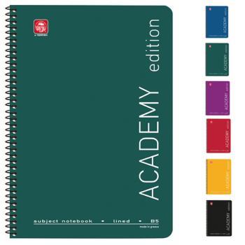 Σχολικά τετράδια σπιράλ TYPOTRUST ACADEMY 4 Θέματα Α4 (6 χρώματα)