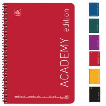 Σχολικά τετράδια σπιράλ TYPOTRUST ACADEMY 5 Θέματα Α4 (6 χρώματα)