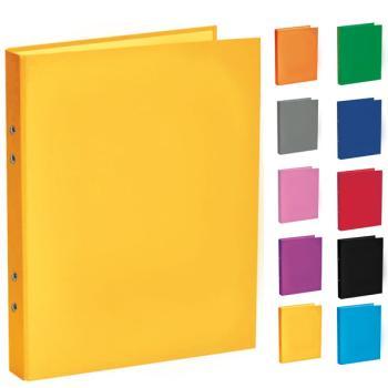 Ντοσιέ σχολικό TYPOTRUST με 4 κρίκους 24x32cm (10 χρώματα)