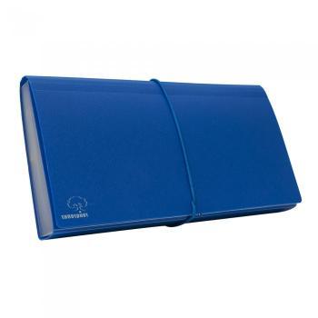 Φάκελος αρχειοθέτησης TYPOTRUST φυσαρμόνικα επιταγών μπλε