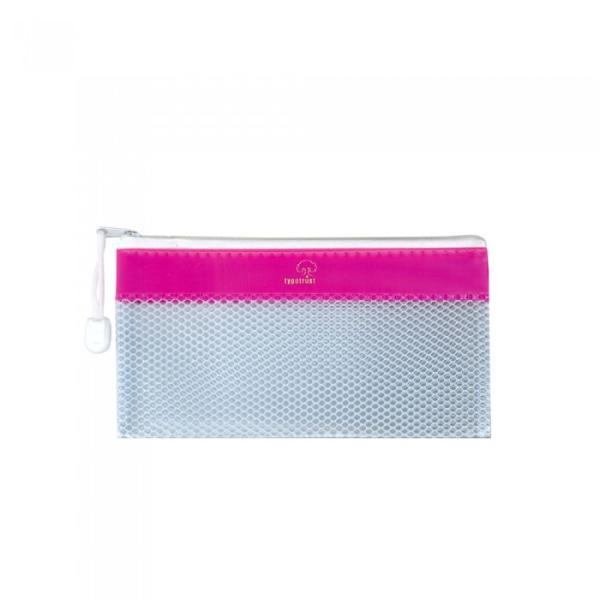 Τσαντάκι με φερμουάρ TYPOTRUST ZIP 11x22cm (4 χρώματα)