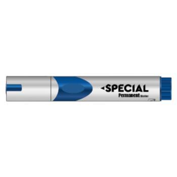 Μαρκαδόρος Ανεξίτηλος SPECIAL επαναγεμιζόμενος μπλε