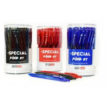 Στυλό διαρκείας TYPOTRUST SPECIAL FINE RT 0.7mm (3 χρώματα)